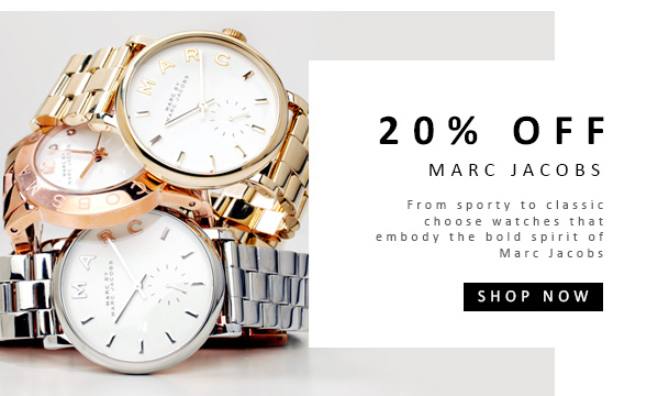 20% OFF Marc Jacobs