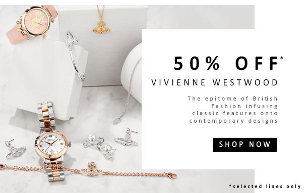 50% OFF Vivienne Westwood