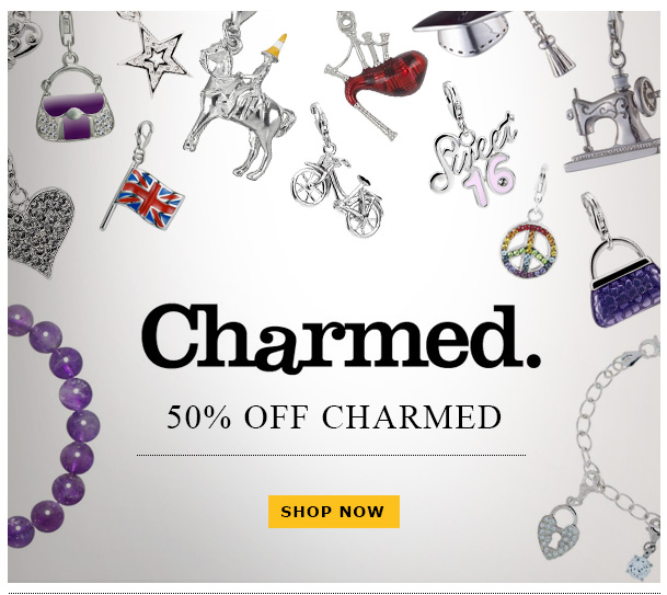 50% off Charmed