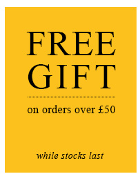 Free Gift on orders over £50