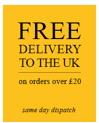 Free delivery to the UK ON ORDERS OVER £20