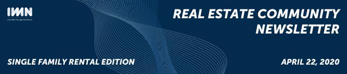 Single Family Rental Community Newsletter
