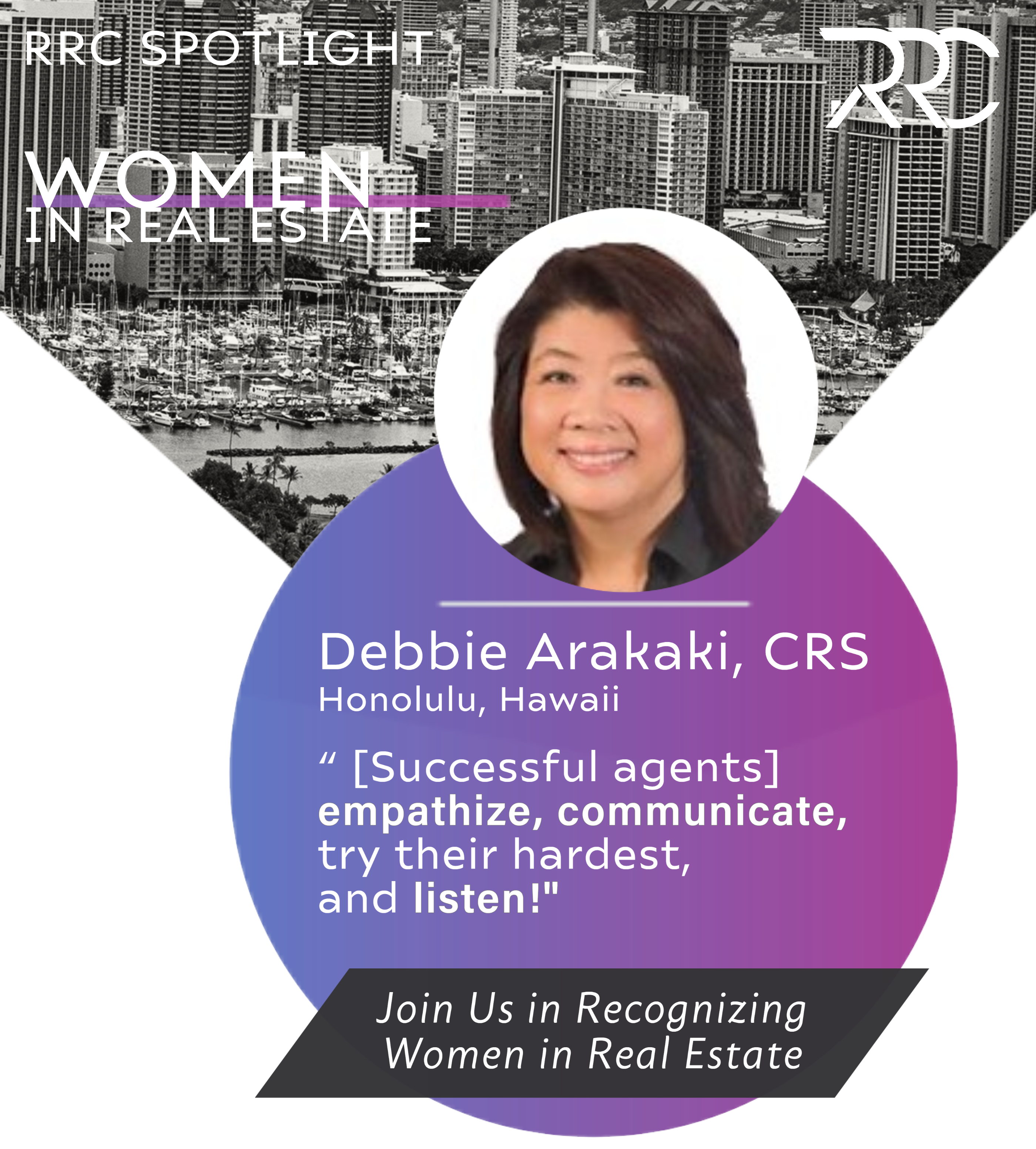RRC Women in Real Estate Celebrates Debbie Arakaki