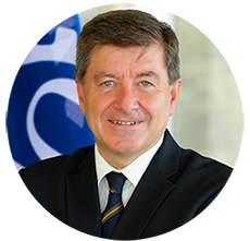 ILO Director General Guy Ryder