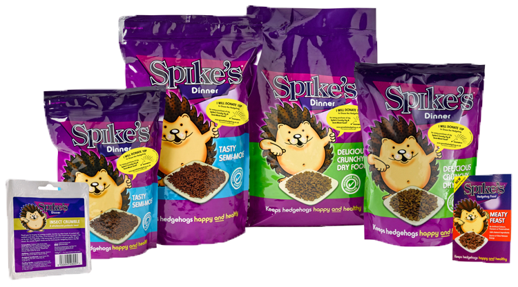 Spike's Hedgehog food products