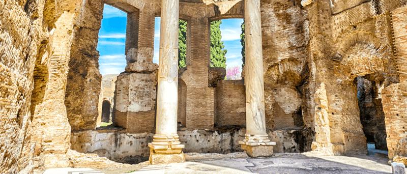 Ruins in Valetta