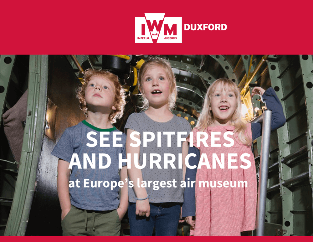 See Spitfires and Hurricanes at Europe's largest air museum