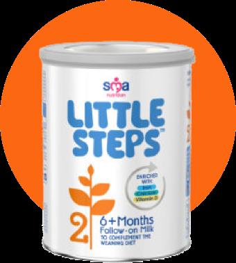 Little Steps 6+ Months Follow-on Milk product