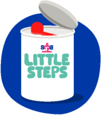 SMA Little Steps Follow-on Milk graphic