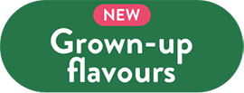 Grown-up flavours
