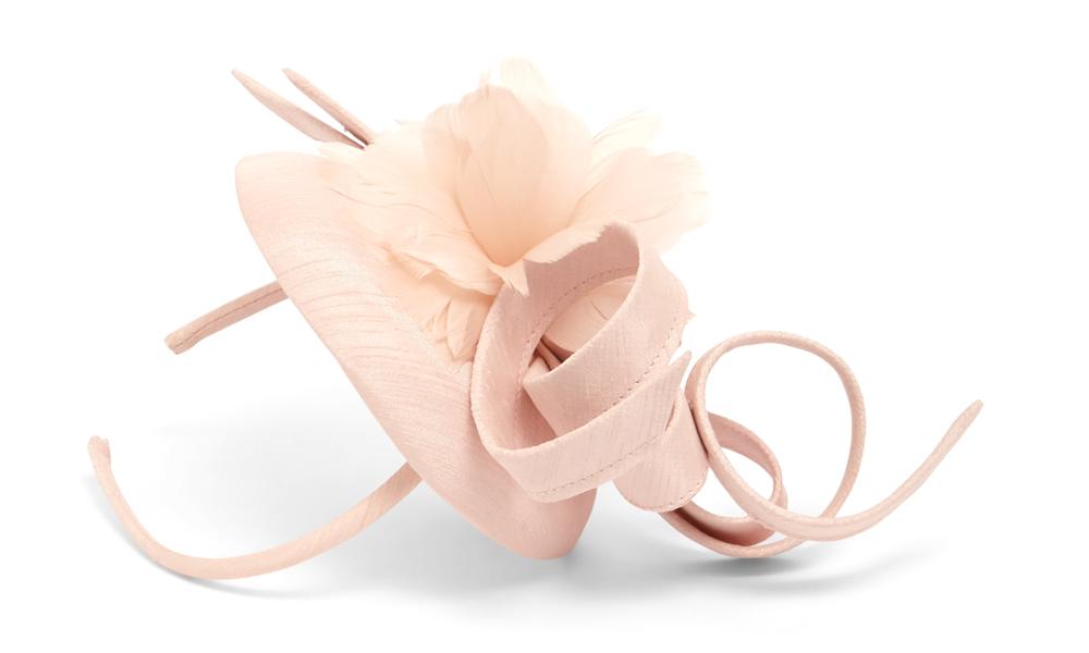 Marta Flower Pillbox Fascinator