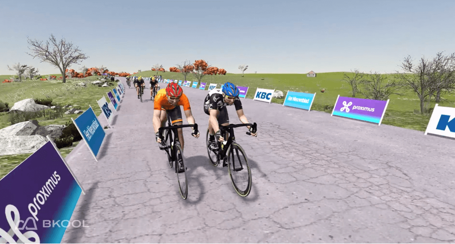 Virtual road race