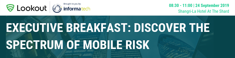 Executive Breakfast: Discover the Spectrum of Mobile Risk