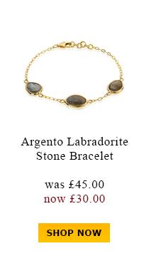 Argento Labradorite Stone Bracelet was £45.00 now £30.00
