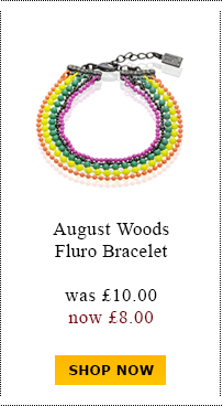 August Woods Fluro Bracelet was £10.00 now £8.00