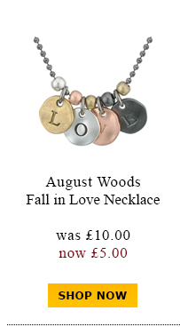 August Woods Fall in Love Necklace was £10.00 now £5.00