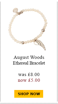 August Woods Ethereal Bracelet was £8.00 now £5.00