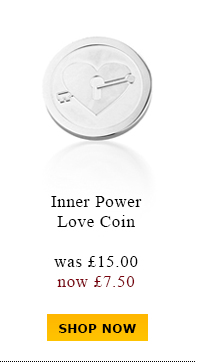Inner Power Love Coin was £15.00 now £7.50