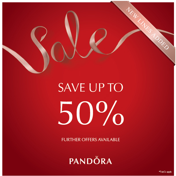 Pandora Sale. More Product Added. Save up to<br /> 50%