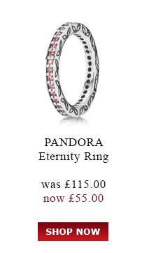 PANDORA. Eternity Ring. Was £115.00 Now<br /> £55.00. Shop Now