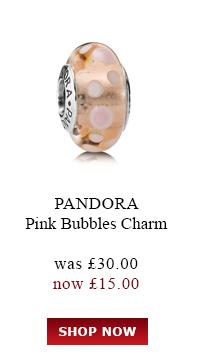 PANDORA. Purple Leather Bracelet. was<br /> £45.00 now £25.00. Shop Now