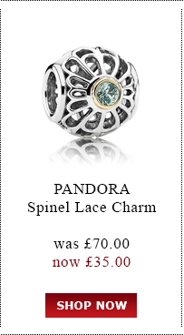 PANDORA. Spinal Lace Charm. was £70.00<br /> now £35.00. Shop Now