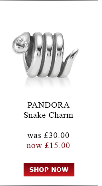 PANDORA. Snake Charm. was £30.00 now<br /> £15.00. Shop Now