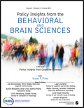 Policy Insights from the Behavioral and Brain Sciences