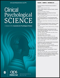 Clinical Psychological Science Cover