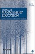 Journal of Management Education  Cover