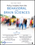 Policy Insights from the Behavioral & Brain Sciences Cover