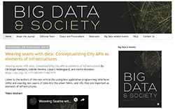 Big Data and Society Blog