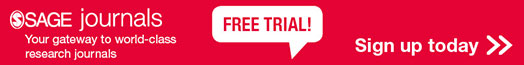 SAGE Journal Free Trial banner