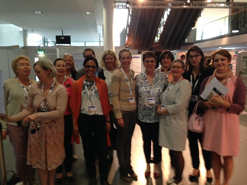Nurses' posters guided tour at ECE 2016
