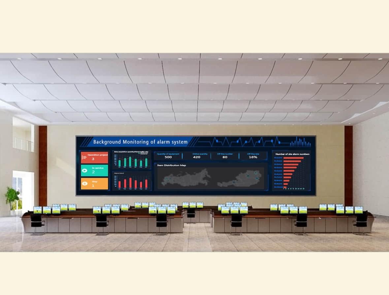 可视化监控大屏系统