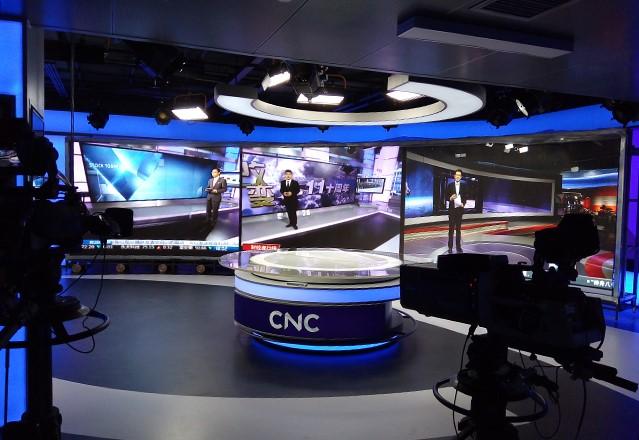 北京新华社CNC演播室