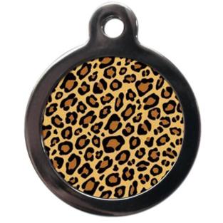 Leopard Pet ID Tag